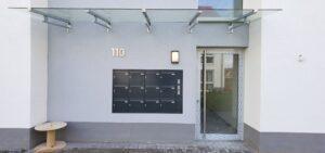 Briefkastenanlage Haus C