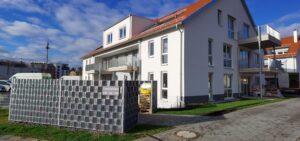 Haus C, mit Wertstoffanlage