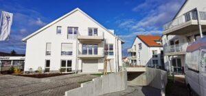 Tiefgarageneinfahrt + Haus A