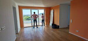 Wohnungsabnahme in Haus C