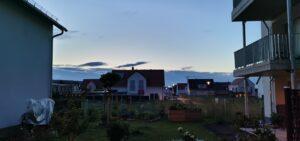Impression am Abend, Richtung Norden